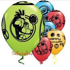 "8 X Avengers Hulk Captain America Ironman Latex 11"" Balloons Decoration Party"