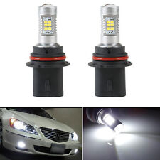 2pcs 6500K HID White High Power 9004 HB1 21W 2538 Headlight Headlamp LED Bulbs