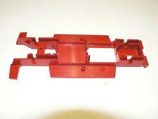 Fahrgestell Chassis rot für VW Golf Carrera 124  zum Basteln oder Sammeln 1:24