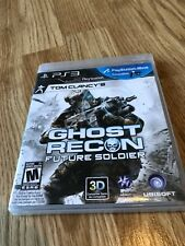 Tom Clancy's Ghost Recon: Future Soldier (Sony PlayStation 3, 2012) PS3 VC4