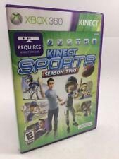Kinect Sports: Season Two (Xbox 360) Complete, CIB!