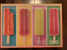 1000 Piece Jigsaw Puzzle Four Popsicles Havana Nights Complete 2019