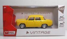 "MondoMotors Renault R8 GORDINI ""Gialla"" - METAL 1:43 Vintage"