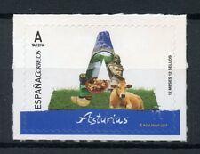 Spain 2017 MNH Asturias 12 Months 12 Stamps 1v S/A Set Tourism Cows