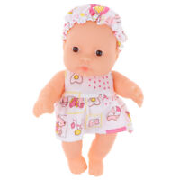 "5"" Realistic Handmade Newborn Baby Doll Toy for Kids Toddler Boys and Girls"