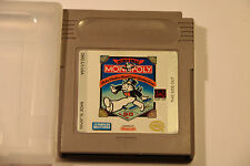 Nintendo Gameboy Game MONOPOLY DMG-LY-USA MADE IN JAPAN