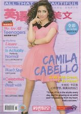 China April 2017 Chinese Magazine with cover on Camila Cabello
