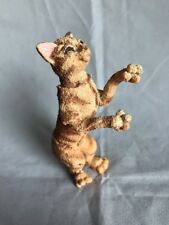 Country Artist A Breed Apart Miniature Cats - Ginger Cat Sitting