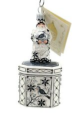 Patricia Breen Santa for Mimi Chinoiserie Christmas Holiday Tea Party Ornament