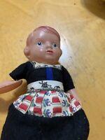 "Vintage Celluloid Doll   7""P101"