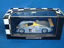MINICHAMPS 400011202 - AUDI R8 - 2ND 2001 LE MANS 24HR -