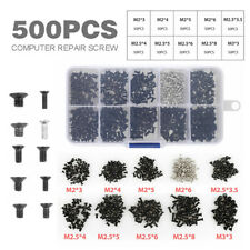 500pcs IN 1 UNIVERSALE VITI VITE Screw PER PORTATILI COMPUTER PC NOTEBOOK SET
