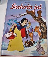 Norwegian Story Childrens Kids Book DISNEYs Snow White SNEHVITS JUL Norsk