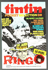 TINTIN POCKET SELECTION n°38 ¤ RINGO / MAGELLAN / RIC HOCHET ¤ 1977