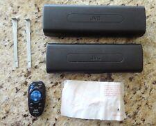 Original Genuine Car JVC Remote RM-RK50 & Pair of Faceplate Cases/Removal Tools!