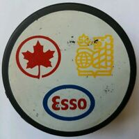ESSO TEAM CANADA VICEROY MFG. OFFICIAL HOCKEY PUCK MADE IN CANADA RARE