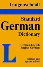 Langenscheidt Standard Dictionary German-English, English-German Rev. Enl. ed.