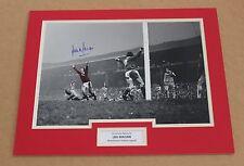 LOU MACARI Manchester United HAND SIGNED Autograph Photo Mount Display + COA