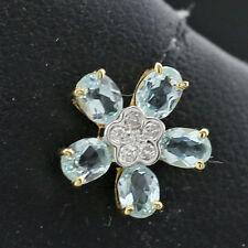 SI2 Echter Diamanten-Ohrschmuck mit Butterfly-Verschluss
