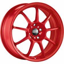 OZ RACING ALLEGGERITA HLT 5F RED ALLOY WHEEL 17X7.5 ET48 5X100