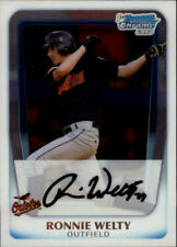 2011 Bowman Chrome Prospects #BCP205 Ronnie Welty Baltimore Orioles