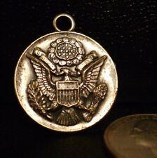 Vintage Robbins Co. Camp Davis North Carolina Presidential Seal Medal FOB RARE !