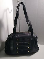 Latico Women's Enzo Handbag 6213 Black Leather - US