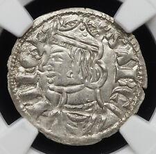 SPAIN, Castile & León. Sancho IV el Bravo (the Brave) 1284-1295, NGC MS65