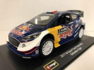 WRC M Sport Ford Fiesta 2017 Sebastien Ogier 1:32 Scale Burago