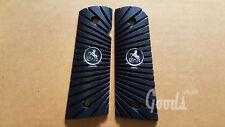 New Black Epoxy Grip For Colt 1911 Full Size Kimber Clones Magwell & No Ambi Cut