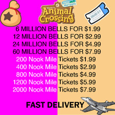 ~Bells and Nook Mile Tickets~