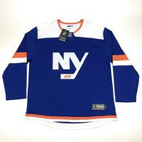 New York Islanders NHL Fanatics Breakaway Mens XL Alternate Blue Hockey Jersey