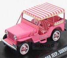 Jeep Willys Surrey Cj3B 1953 Pers.Car Elvis Presley Greenlight 1:43 GREEN86472