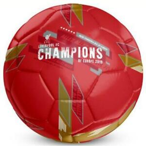 LIVERPOOL FC SIZE 5 FOOTBALL CHAMPIONS OF EUROPE