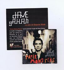 CD SINGLE PROMO (NEW) DAVE GAHAN PAPER MONSTERS (DEPECHE MODE)