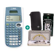 TI 30 XS MultiView Taschenrechner + Schutztasche und GeometrieSet