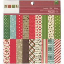 American Crafts Christmas 6 X 6 Paper Pad Christmas