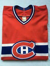 VTG Montreal Canadiens Hockey Jersey NHL CCM Made in USA Men's Medium