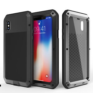 For iPhone 11 Pro Max 6S 7 8 Plus XR XS Metal Shockproof Heavy Duty Case Cover