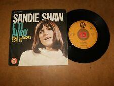 SANDIE SHAW - E TI AVRO - VIVA L'AMORE CON TE  - 45 PS  / LISTEN -TEEN ITALIAN