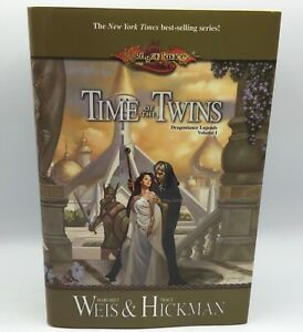 DragonLance Legends: Time of the Twins 1st Edition Hardcover Weis Hickman Signed
