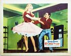 Come Dance With Me 1960 Brigitte Bardot twirling her skirt! US Lobby Card
