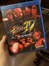 Street Fighter IV The Ties that Bind Blu-ray Capcom 2009 + Soundtrack CD