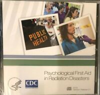 CDC Psychological First Aid In Radiation Disasters  CD- ROM