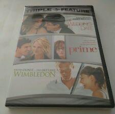 "Wedding Date/Prime/Wimbledon (DVD, 2007, 2-Disc Set) TRIPLE FEATURE  ""NEW"""