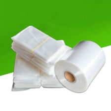 100stk POF plastik film Schrumpffolien Tasche DIY Paket Shrink Wrap Pouches Bag