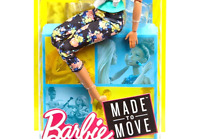 Barbie Made To Move Doll, Brunette