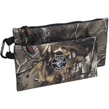 Klein Tools 55560 Camo Zipper Bags - 2 Pack