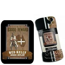 Ned Kelly Aussie Outlaw Fleece Throw Rug Couch Picnic Blanket Collection Gift