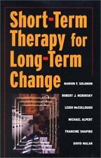 Short-Term Therapy for Long-Term Change (Paperback or Softback)